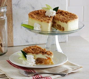 Junior's 3 lb. Apple Crumb Cheesecake - M52330