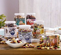SH 12/11 Germack 3 lbs. of 6 Holiday Mini Jar Assortment - M53830