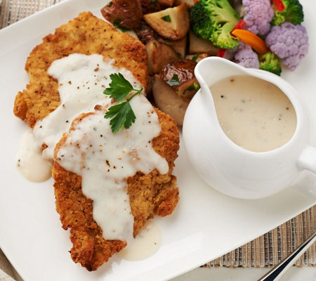 Heartland Fresh (20) 5 oz. Chicken Fried Chicken with 4 Gravy Packets
