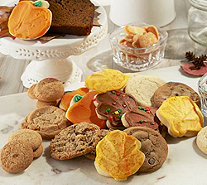 SH 10/16 Cheryl's 50-Piece Fall Bakery Sampler Auto-Delivery - M56130