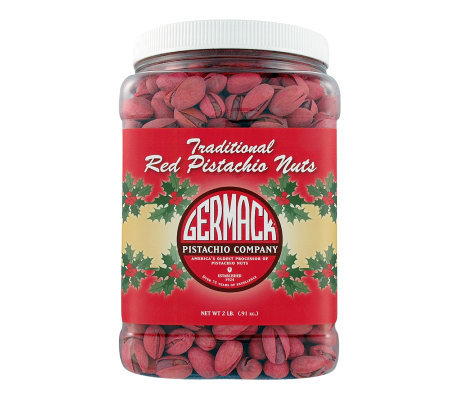 Germack Red Pistachios Jar
