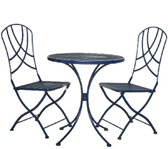 ED On Air ATLeisure 3-piece Bistro Set by Ellen DeGeneres - M45931