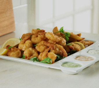 Perfect Gourmet 60-piece Buttermilk Breaded Shrimp - M47831