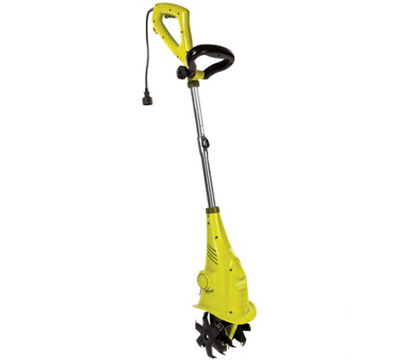 Sun Joe Electric Garden Tiller and Cultivator w/2.5 Amp Motor