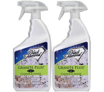 Black Diamond Granite Plus! Cleaner Plus Sealer- 2 qts - M110032