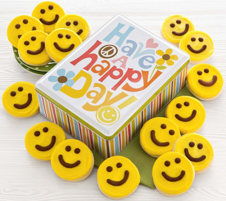 Cheryl's Happy Face Gift Tin