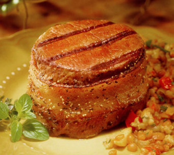 Kansas City (8) 5oz. Bacon Wrapped Filet Mignons - M22332