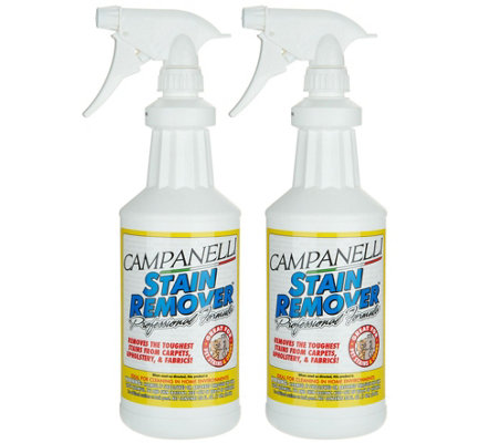 Set of 2 Professional Stain Remover Liquids byCampanelli