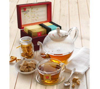Wissotzky Tea Royal Tea Chest with 32 AssortedTeas - M112934