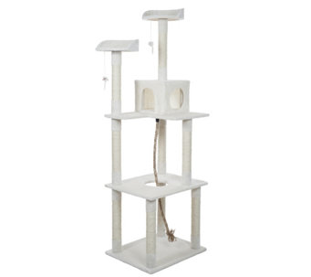 Petmaker 6' Sleep and Play Cat Tree - M115434