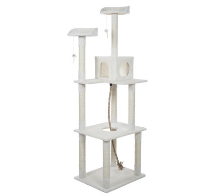 Petmaker 6' Sleep and Play Cat Tree