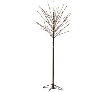 4-in-1 City Lights Indoor/Outdoor Tree with Stand & Stake - M45634
