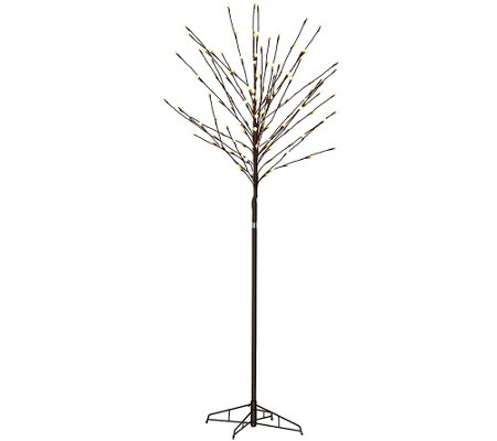 4-in-1 City Lights Indoor/Outdoor Tree with Stand & Stake