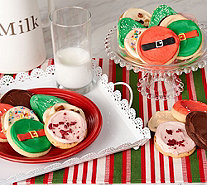 Ships 11/6 Cheryl's 24 pc. Holiday Frosted Cookie Assortment - M54934