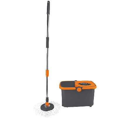 Casabella Spin Cycle Mop With Bucket Page 1 Qvc Com