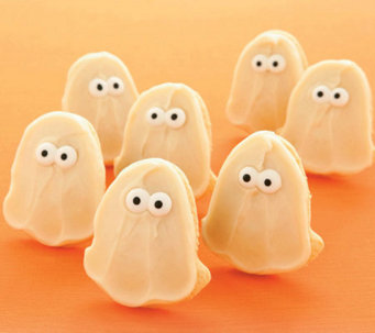 Cheryl's 24-pc Frosted Ghost Cutout Cookies - M111436