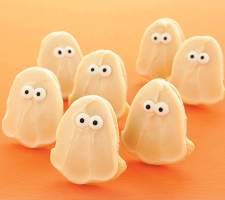 Cheryl's 24-pc Frosted Ghost Cutout Cookies