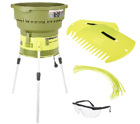 Sun Joe 13-Amp Electric Leaf Shredder & Mulcher w/ Accessory Pack