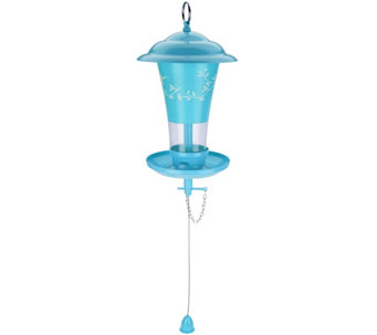 Effortless Birdfeeder with Easy Sliding Refill System - M48536