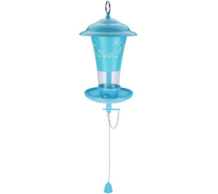 Effortless Birdfeeder with Easy Sliding Refill System