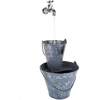 Barbara King Indoor/Outdoor Illuminated Waterspout Fountain - M51936
