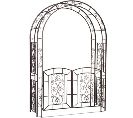 Plow & Hearth Madison Arbor with Gate