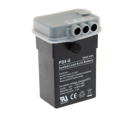 6 Volt Rechargeable Battery Pack