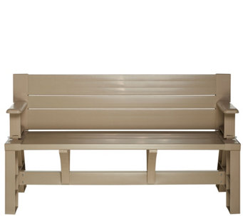 Convert-A-Bench Ultra III Outdoor 2-in-1 Bench-to-Table w/5 Year LMW - M48537
