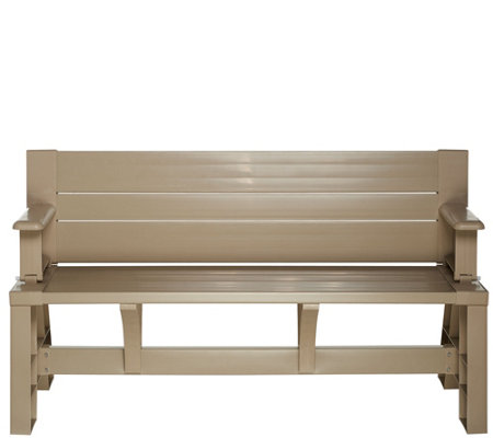 Convert-A-Bench Ultra III Outdoor 2-in-1 Bench-to-Table w/5 Year LMW