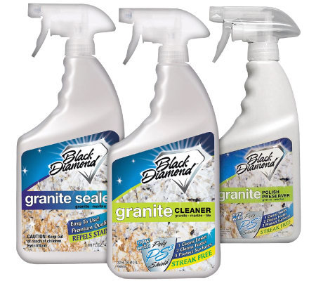 Black Diamond Granite Care System