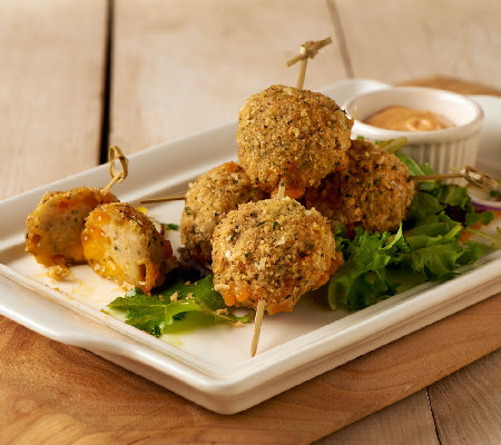 Stuffin Gourmet (60) Parmesan Crusted Chicken Cheese Balls Auto-Delivery