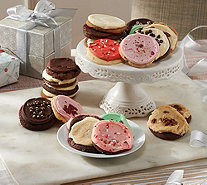 Ships 12/12 Cheryl's 24 Piece Holiday Frosted Cookie Assort. - M53538