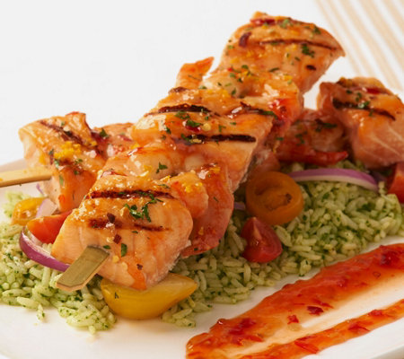 Egg Harbor (8) 6 oz. Faroe Island Salmon and Shrimp Kabobs