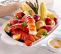 Greenhead Lobster (8) 5-6 oz. Lobster Tails & 8 oz. of Butter - M53439