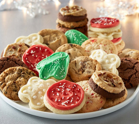 Cheryl's 24pc Classic Holiday Cookies