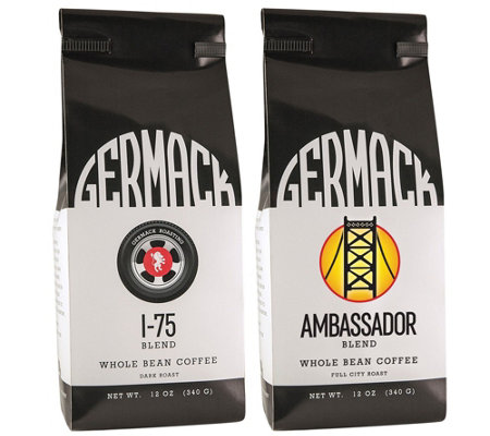 Germack 12-oz I-75 and 12-oz Ambassador Blend