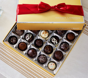 Ships 12/5 Harry London 25pc. Truffle Assortment in Gift Box - M52840