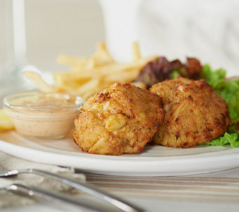 Ships 12/5 Seafood House (10) 3 oz. Crab Cakes Auto-Delivery - M53141