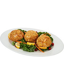Great Gourmet (7) 8 oz. Colossal Crab and Shrimp Cakes - M54941
