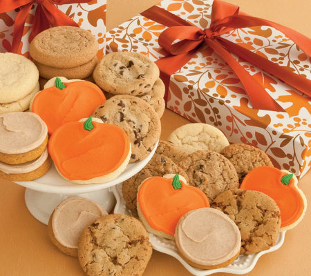 Cheryl's 24-pc Fall Assorted Cookie Box