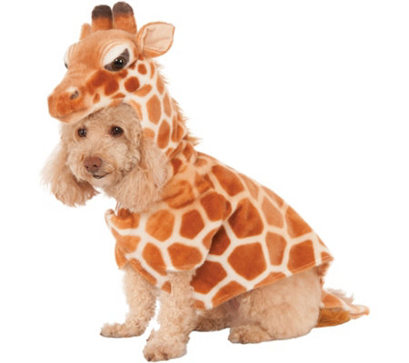 Rubie's Giraffe Hoodie Pet Costume-Medium