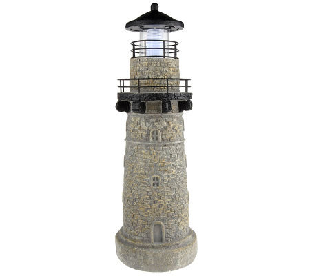 "Westinghouse Solar Powered 30"" Lighthouse"