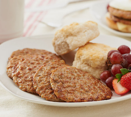 Smithfield (64) Count 2 oz Fully Cooked Original Sausage Patties