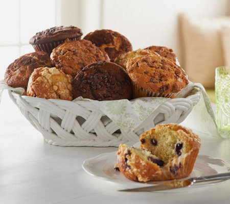 Jimmy the Baker 24 Piece Classic Muffin Assortment Auto-Delivery