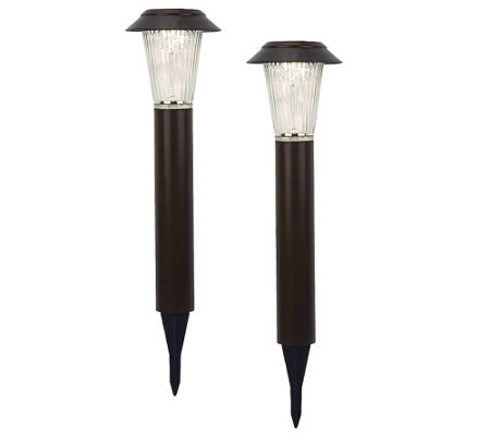 Paradise 2 pk Solar Tower Rotating Light Set
