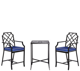 Scott Living 3 Piece High Top Bistro Patio Set   M48545 Part 88