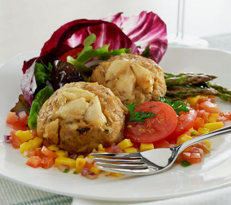 Graham & Rollins (8) 4 oz. Classic Crab Cakes Auto-Delivery