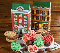 Ships 11/1 Cheryl's Holiday Village House Boxes- Set of 2 - M115946