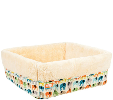 Animal Planet Square Cuff Pet Bed - Elephant