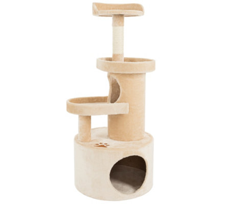 Petmaker Cat Tree Condo 4-Tier with Tunnel